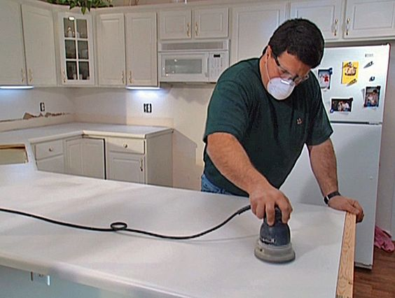 Install Tile Over Laminate Countertop And Backsplash