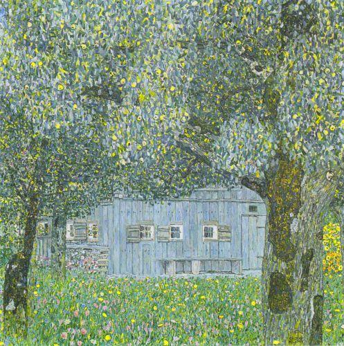 Oberosterreichisches Bauernhaus Klimt Gustav Klimt Kunstwerke