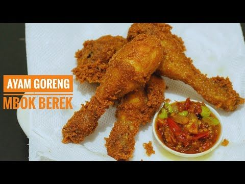 Resep Ayam Goreng Mbok Berek Simple Version Youtube Resep Ayam Ayam Goreng Resep Masakan Indonesia