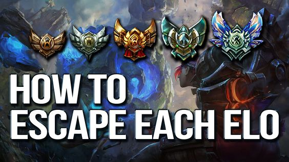 HOW TO ESCAPE EACH ELO & CLIMB - Differences between each rank (League of Legends) by Phylol https://www.youtube.com/watch?v=HPDGmA2quRU #games #LeagueOfLegends #esports #lol #riot #Worlds #gaming
