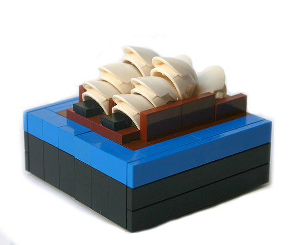 micro opera house Lego Mini Modular