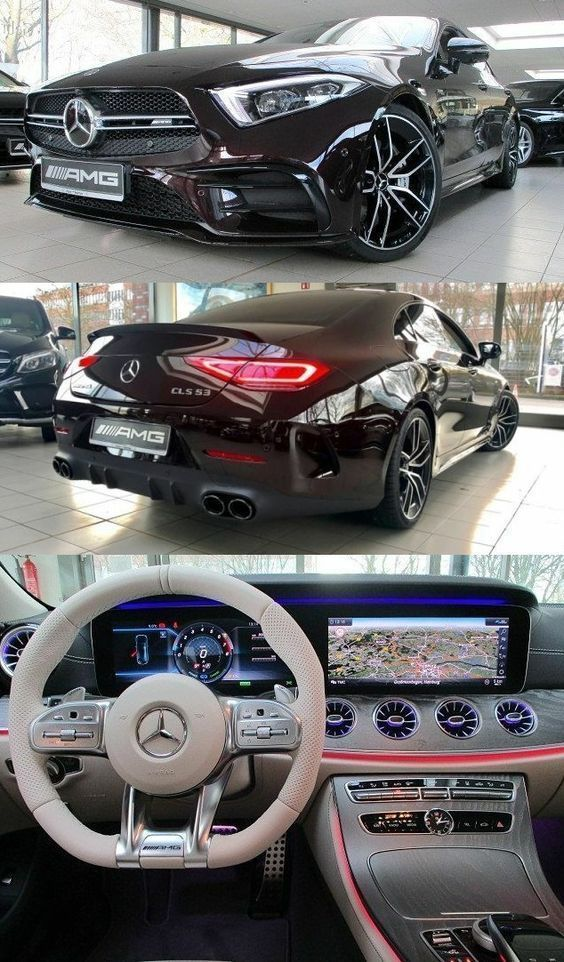 Mercedes Benz Cls 53 Amg More Dreamy Cars En 2020 Voiture