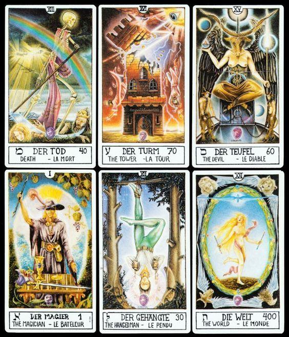 Neu! 1. Auflage 1986 Großes Eclectic Tarot unbespielt Kartenlegen Tarotkarten