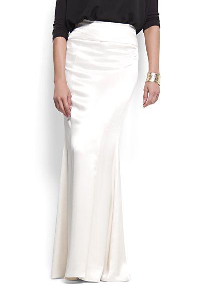 Mermaid shape long skirt MYR259: