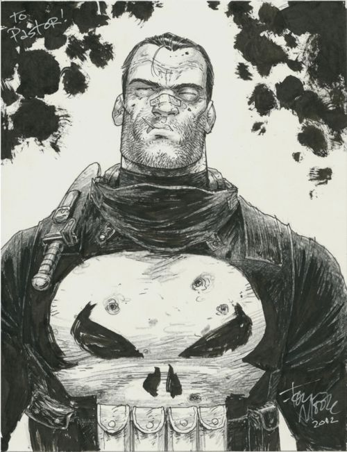 The Punisher by Tony Moore