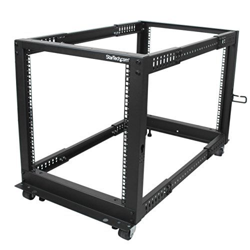 Startech Com 12u Adjustable Depth Open Frame 4 Post Serve Https Smile Amazon Com Dp B00p1rj9ls Ref Cm Sw R Pi Dp U X Gidjc Server Rack Open Frame 12u Rack