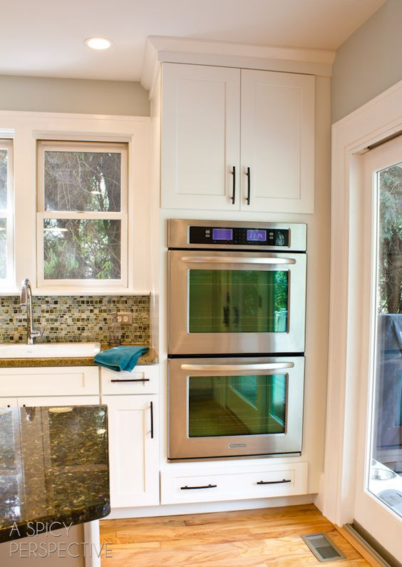 11 Best Ovens Images On Pinterest | Dream Kitchens, Kitchen And Double Oven  Kitchen Part 58