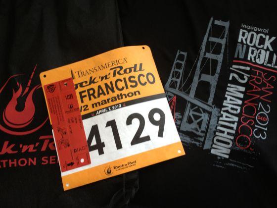 Rock 'n' Roll San Francisco Recap #running #marathon
