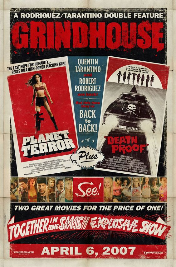 #Movie #MoviePoster #Poster #GrindHouse