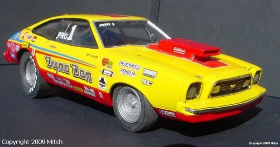 Dyno Don's ugly Mustang II Prostock. I make no apologies, I never liked these.