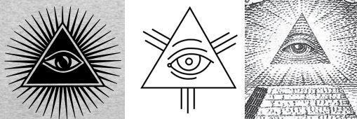 フリーメイソンの目のマークの意味を画像で説明 | 全能の目, 目 画像 ...