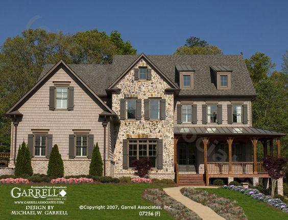 Garrell Associates Inc Oxford F House Plan 07256
