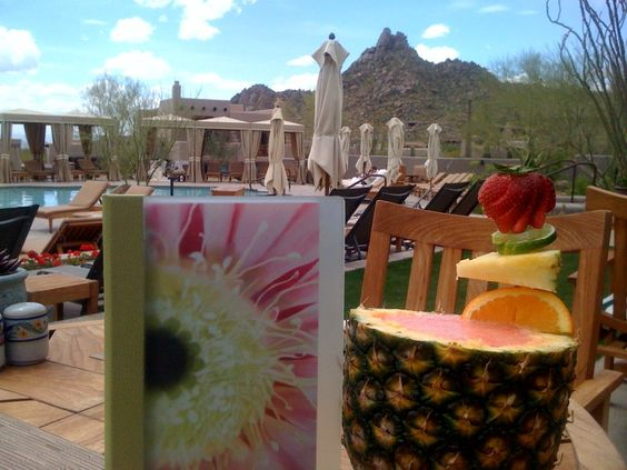Yum!  An AZ Mai Tai is the perfect thing to sip poolside @FSScottsdale this #JulyFourth. #FSFoodies
