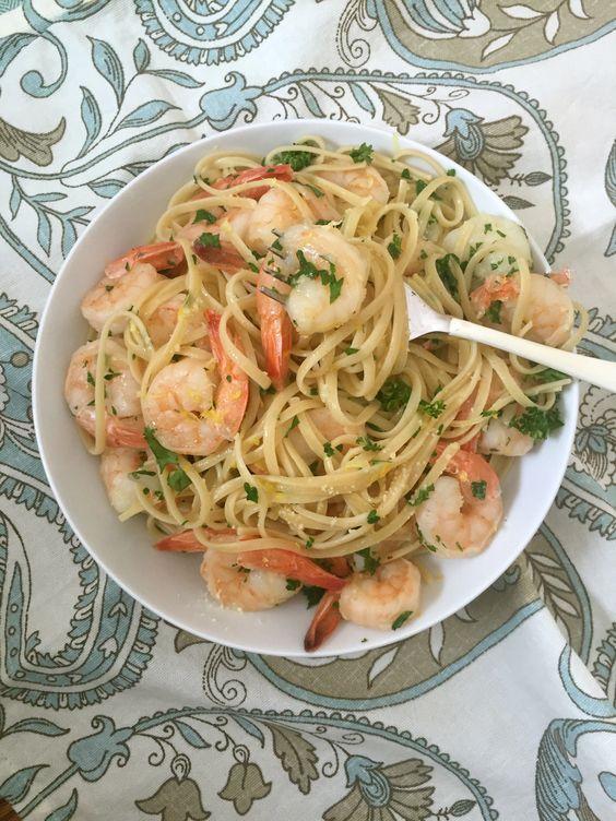 Buttery Lemon Parsley Noodles Recipe — Dishmaps