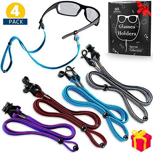 Kids Glasses Strap Eyeglasses Sports Sunglasses Holder Adjustable Eyewear Retainer Cord Chain Lanyard