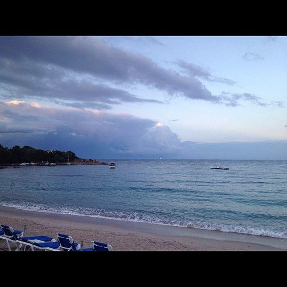 Bye bye la corse snif #corse #corsica #plage #beach #view - @albertineinparis- #webstagram