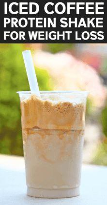 Skinny Iced Coffee Protein Shake