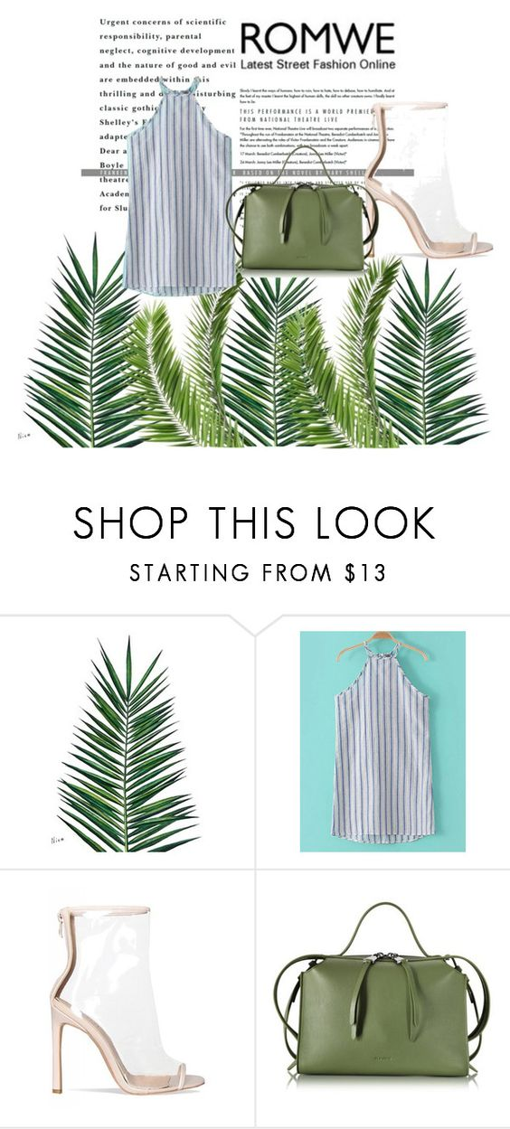 """""""romwe"""" by atinedz-22 ❤ liked on Polyvore featuring Nika and Jil Sander"""