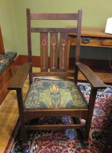 Rockers Gustav Stickley And Arts Amp Crafts On Pinterest