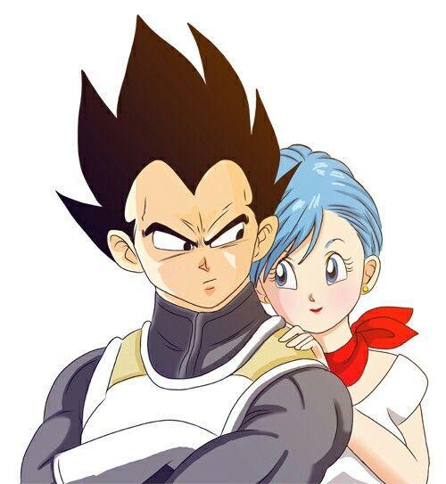 Vegeta Bulma Love Anime Dragon Ball Super Anime Dragon Ball Vegeta And Bulma