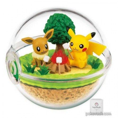 Pokemon Terrarium Collection DX Pikachu in Hidamari Big size Japan Re-Ment