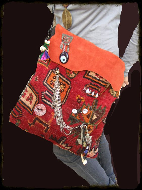 Bohemian Hippie Peace Dove Tribal Nomadic Unisex by TribalZen. This bag is awesome.  $179.00.