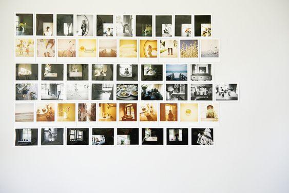 How to Make a Polaroid Wall - Azzari Jarrett