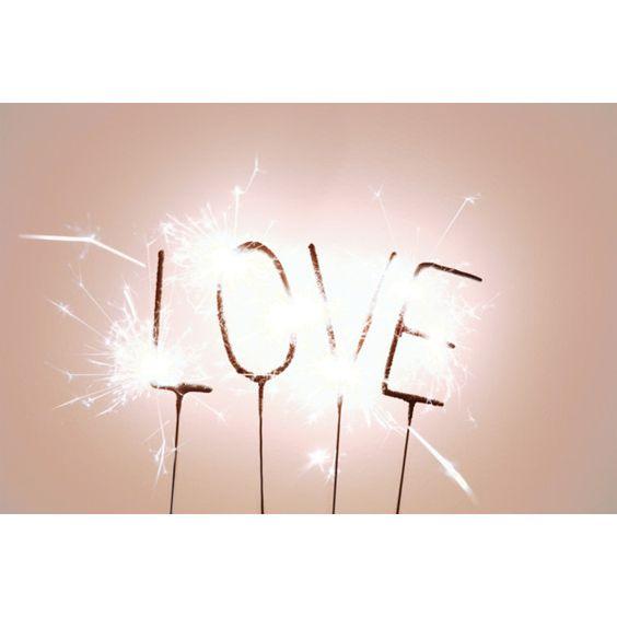 LOVE sparkler ❤ liked on Polyvore