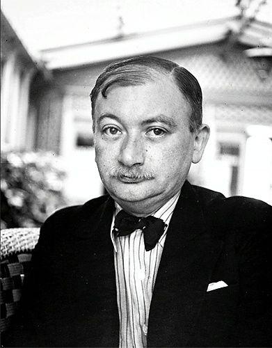 Joseph Roth im Pariser Hotel Foyot, 1935, by Josef Breitenbach