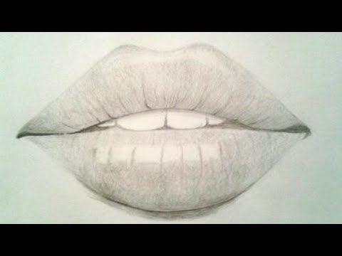 رسم شفايف بالرصاص للمبتدئين رسم سهل كيفية رسم الشفاه للمبتدئين رسومات بالرصاص تعلم الرسم Youtube Lips Drawing Pencil Drawings Lips