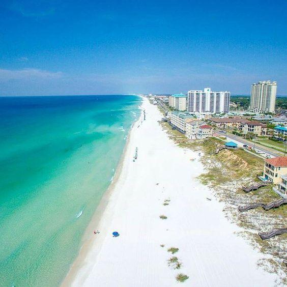 Miramar Beach City In Florida United States