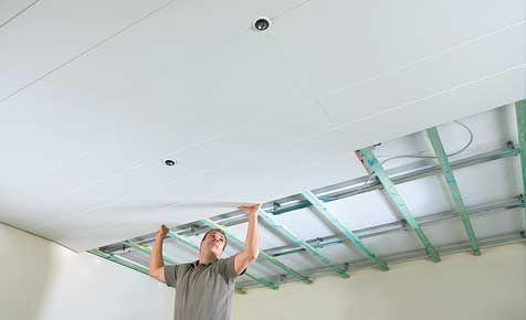 Badezimmer Decke Verkleiden Zimmerdecke Zimmerdecke Verkleiden Badezimmer D In 2020 Basement Ceiling Ceiling Cladding Ceiling