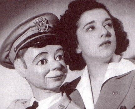 KAY CAROLE  Figure: Tommy, made by Frank Marshall.  Tommy was a master of insults.  Kay remained mostly silent during the performance.