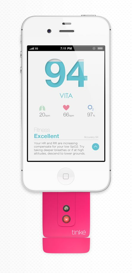 Tinke #app #fitness #interface