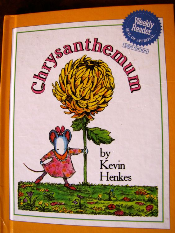 activities to go along with the book chrysanthemum by kevin henkes the mouse who loves