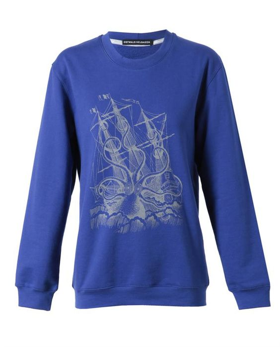 Ostwald Helgason Sweatshirt | Sea Monster Graphic