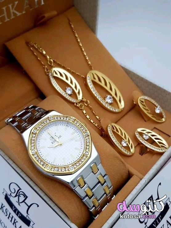 صور ساعات نسائيه 2020 صور اكسسوارات بنات من الذهب 2020 حصري Kntosa Com 05 19 156 Bracelet Watch Accessories Wrap Watch