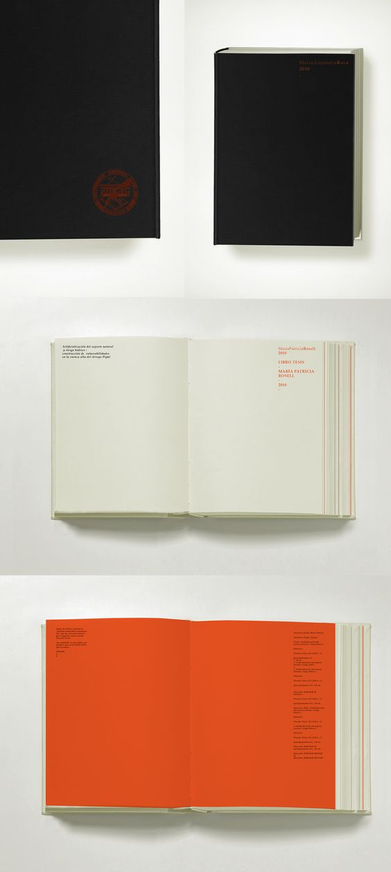 Thesis book, Roca, 2012 on Behance