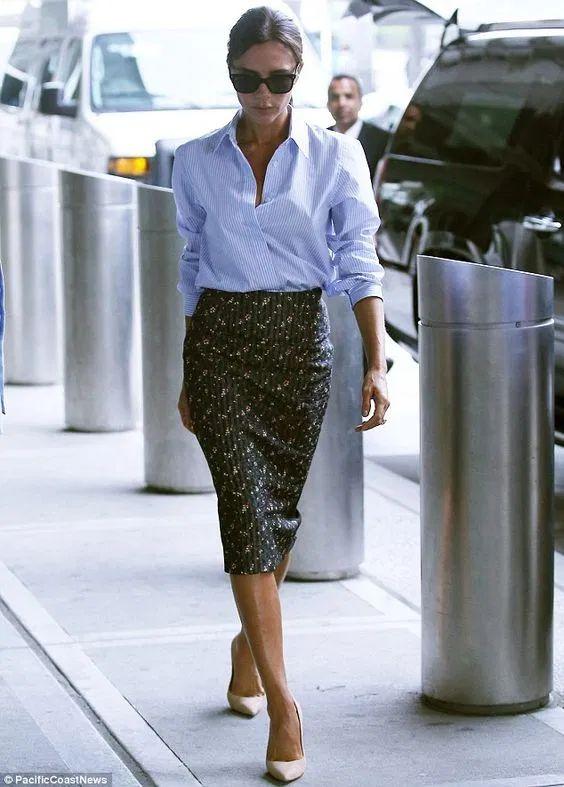Вместо «футляра» и «кофточки»: юбка-карандаш и… — Vandastyle
