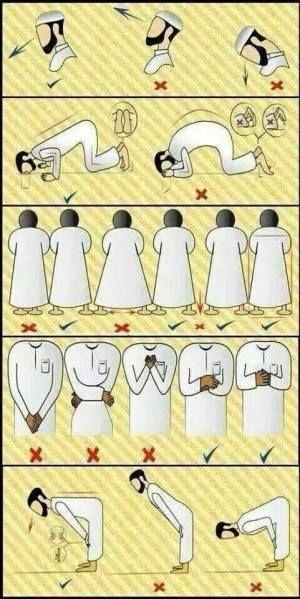 La Salat La Prière Partie 2 Priere Musulmane Apprendre Priere Islam Islam Priere