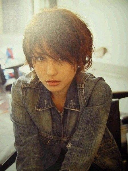 前髪をおろしている長澤まさみさん