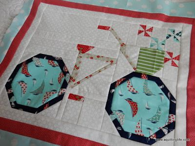 A Quilting Life - a quilt blog: Snapshots Quilt Along: A Bicycle Quilt Block: