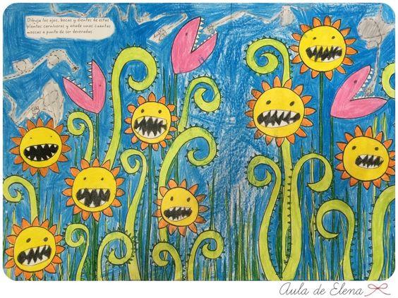 El gran álbum para dibujar, colorear y garabatear en el Aula de Elena 9