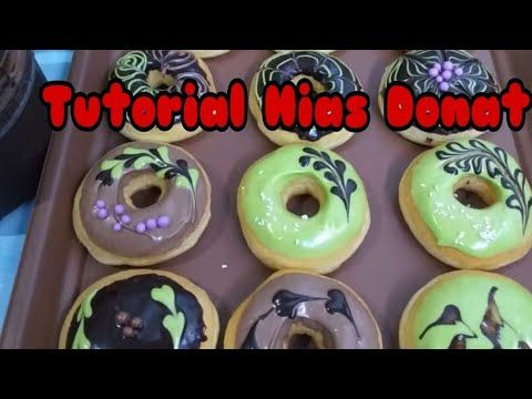 Dekorasi Donat Sederhana Tutorial Menghias Donat Youtube Ide Makanan Donat Donat Isi