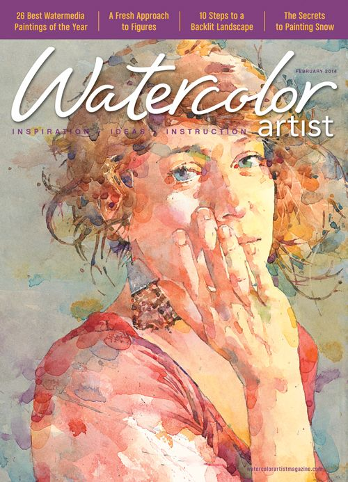 Watercolor Artist February 2014 Issue Digital Edition Watercolor