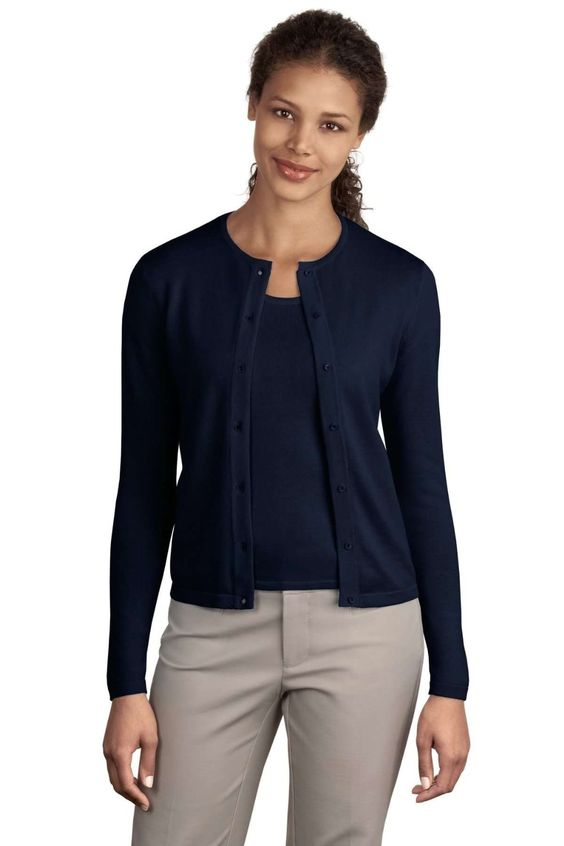 $29 Navy Blue Womens #Cardigan | The Sweater Drawer