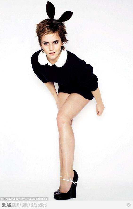 : Halloween Costume, Emma Watson Hair, Watson Easter, Emma Watson Fashion, Bunny Girls, Happy Easter, Beautiful Girls