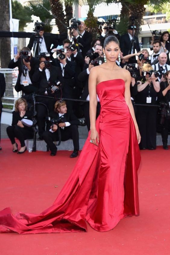 Pin for Later: Seht die Stars in ihren schönsten Roben beim Filmfest in Cannes Chanel Iman