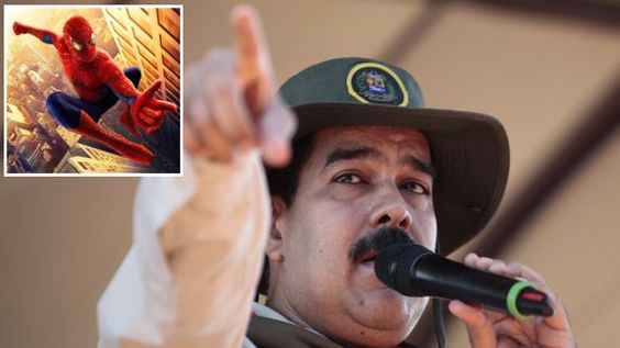 Maduro: Películas como el #Hombrearaña fomentan violencia en Venezuela. #Peru21