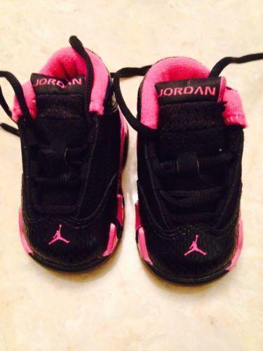 Nike Air Jordan XIV 14 Retro Infant todler Girls Pink